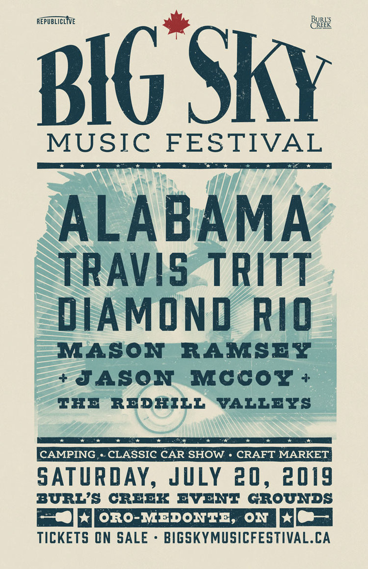 BIGSKY Poster FullLineUp Web 001 - July Events You Don't Want To Miss!