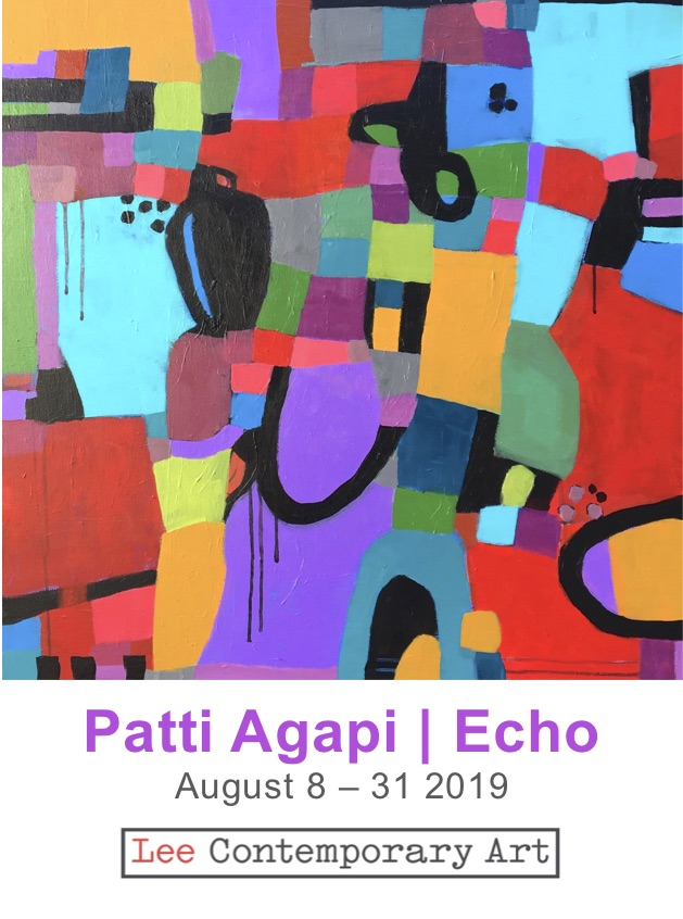 Patti Agapi Invite front - MURRAY MCLAUCHAN - ARTIST LIFE STORIES
