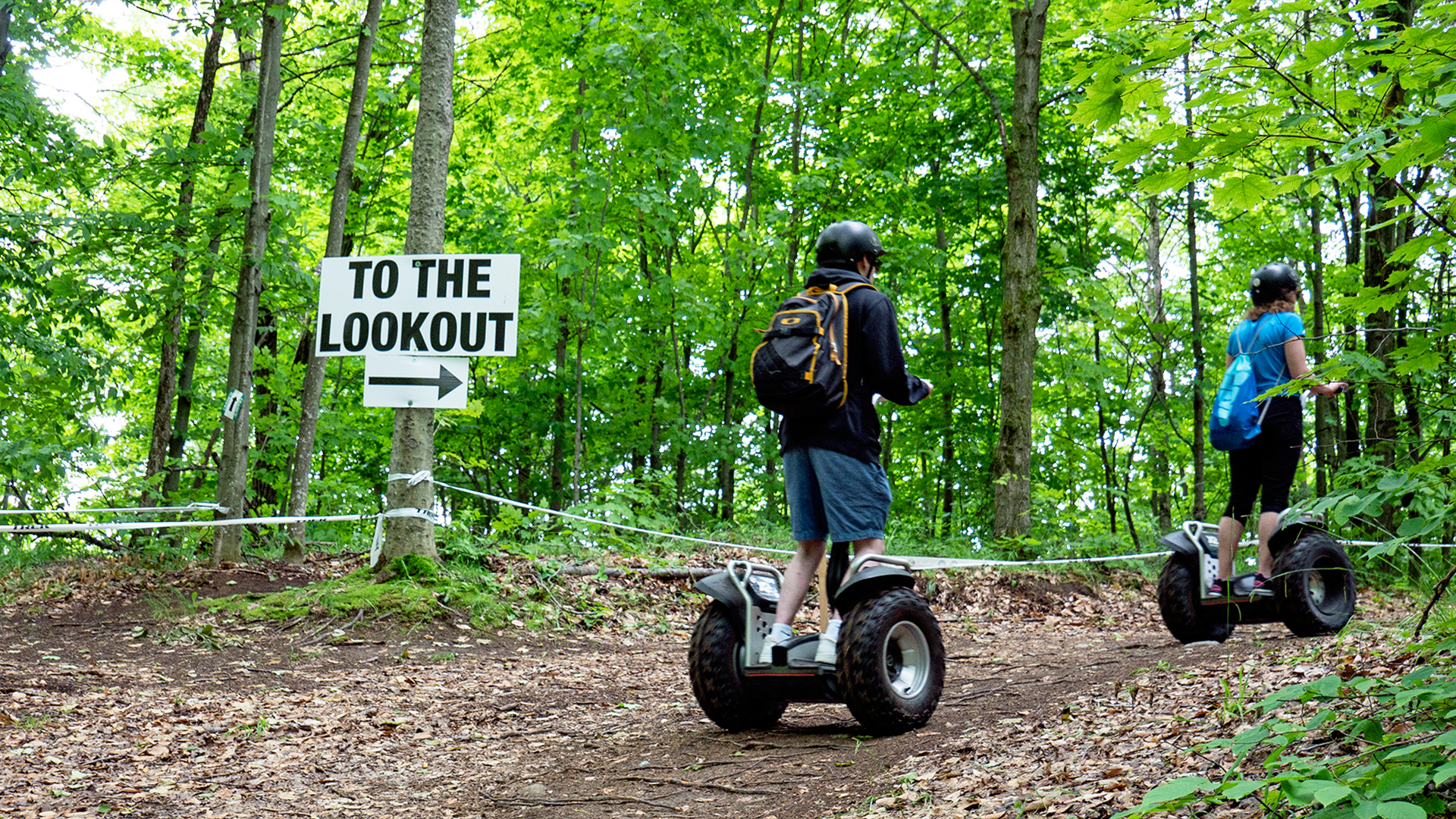 lookout enter - Adventure Day in Oro-Medonte