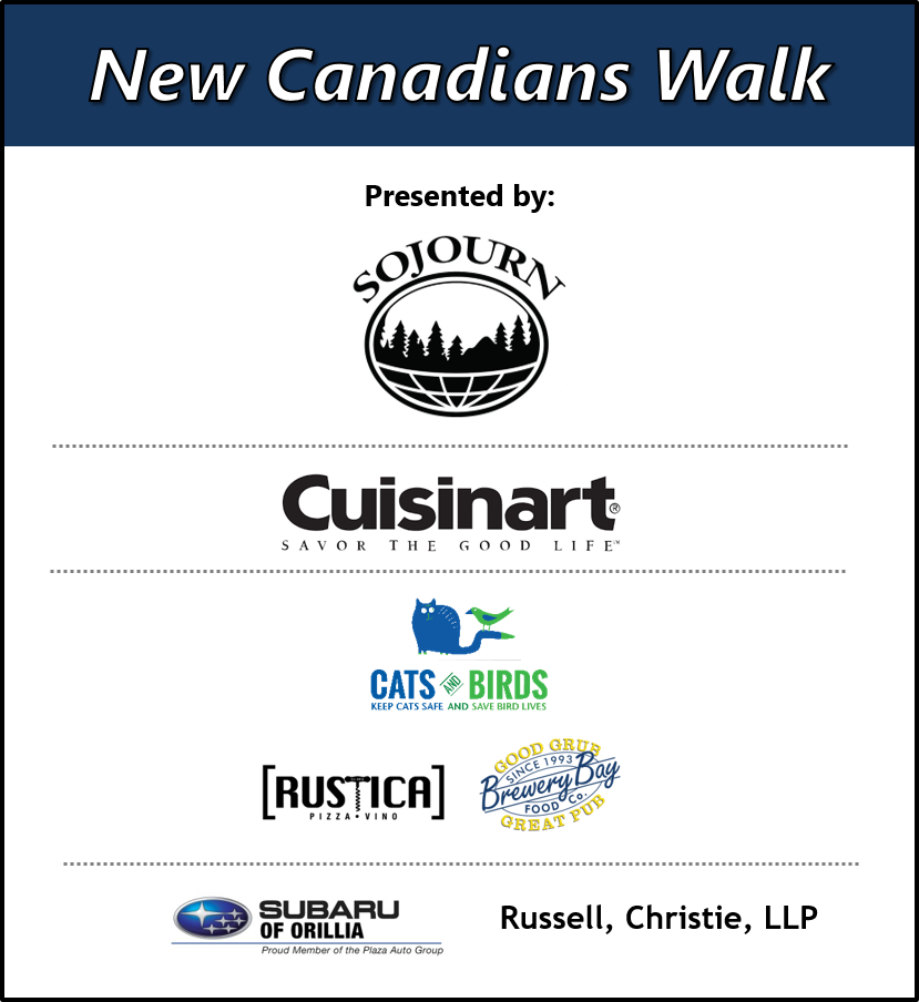 13 - PASSPORT TO NATURE: NEW CANADIANS WALK