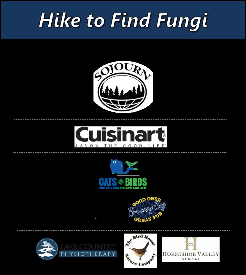 14 - PASSPORT TO NATURE: HIKE TO FIND FUNGI