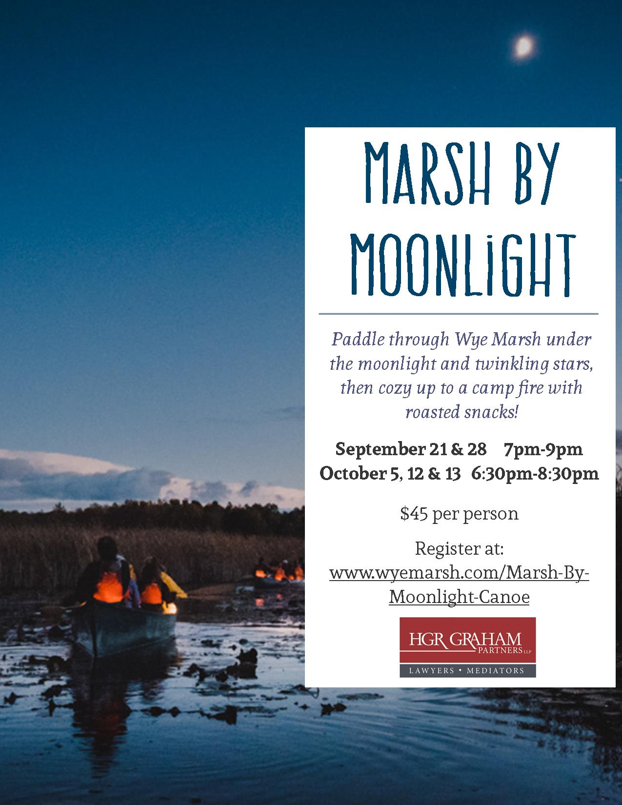 MBM Poster - MARSH BY MOONLIGHT