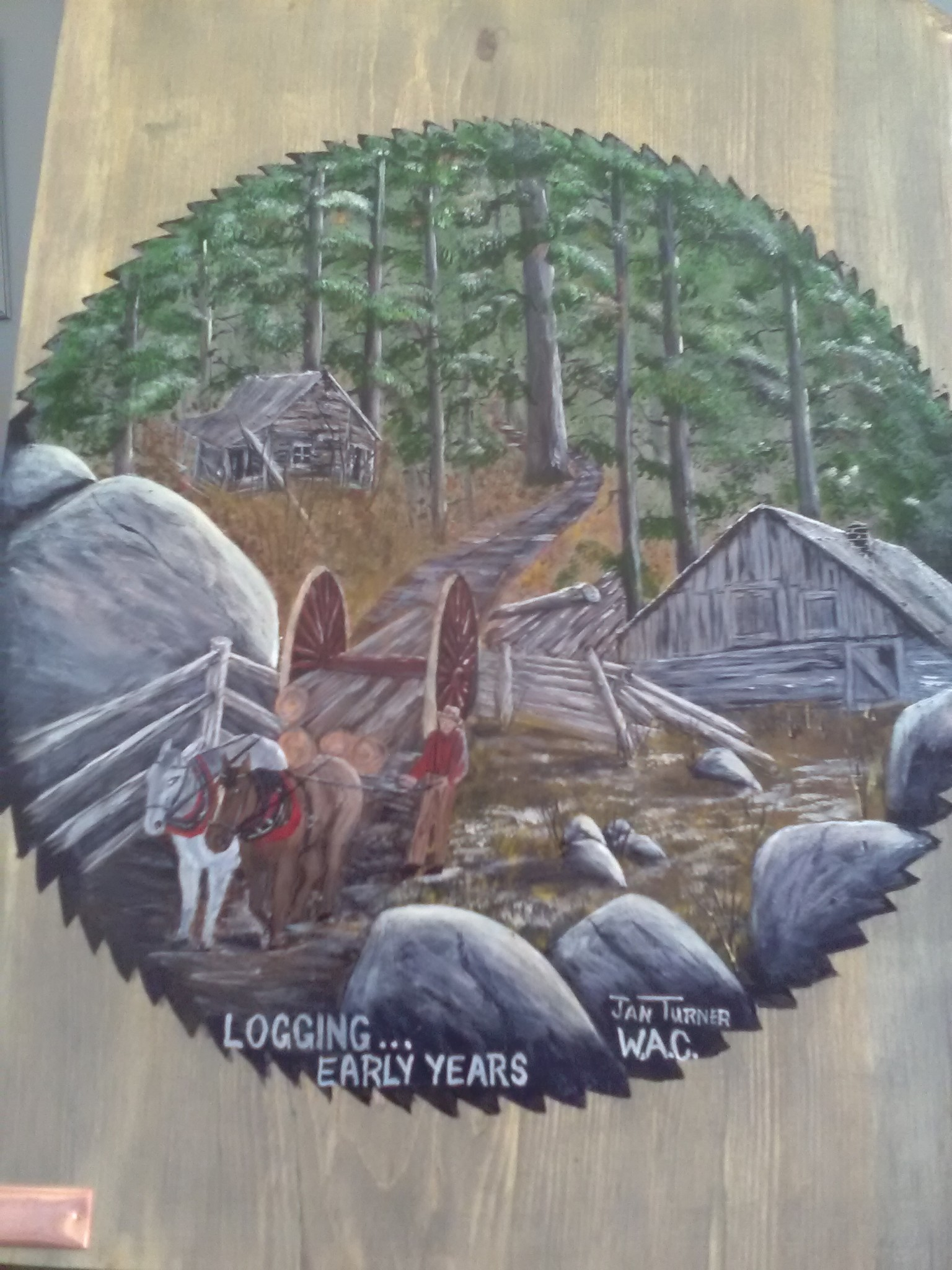 washago pine panels 7 - ART SHOW, SALE AND PANEL AUCTION