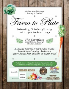 farm to plate poster small 232x300 - FARM TO PLATE