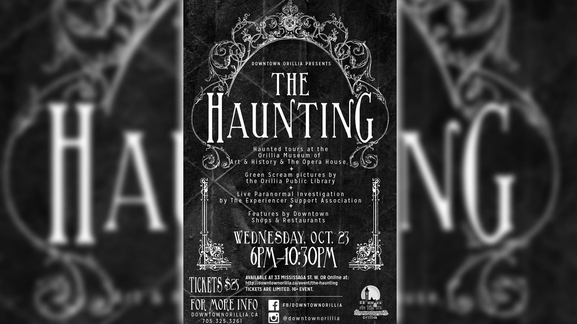 haunting - October events you don't want to miss!