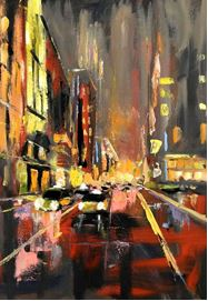 paintig the town - WINE & PAINT NIGHT WITH MURRAY VAN HALEM