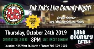 10480385 300x158 - YUK YUK'S LIVE COMEDY NIGHT