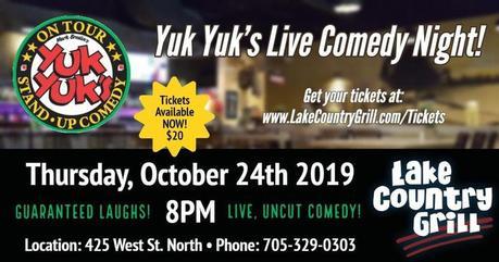 10480385 - YUK YUK'S LIVE COMEDY NIGHT