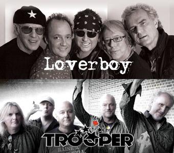 loverboy trooper artdtl - LOVERBOY & TROOPER