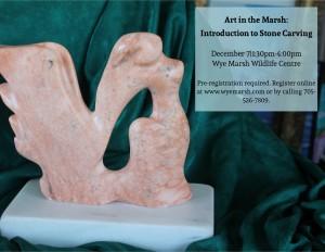 Art in the Marsh Stoen Carving Calendar Image 300x232 - ART IN THE MARSH:  INTRODUCTION TO STONE CARVING