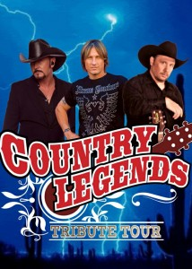Country Legends Garth Tim Keith jpeg 214x300 - TRIBUTE TO COUNTRY LEGENDS- BROOKS, MCGRAW & URBAN