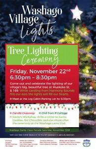 PosterFinal1 194x300 - WASHAGO TREE LIGHTING CEREMONY