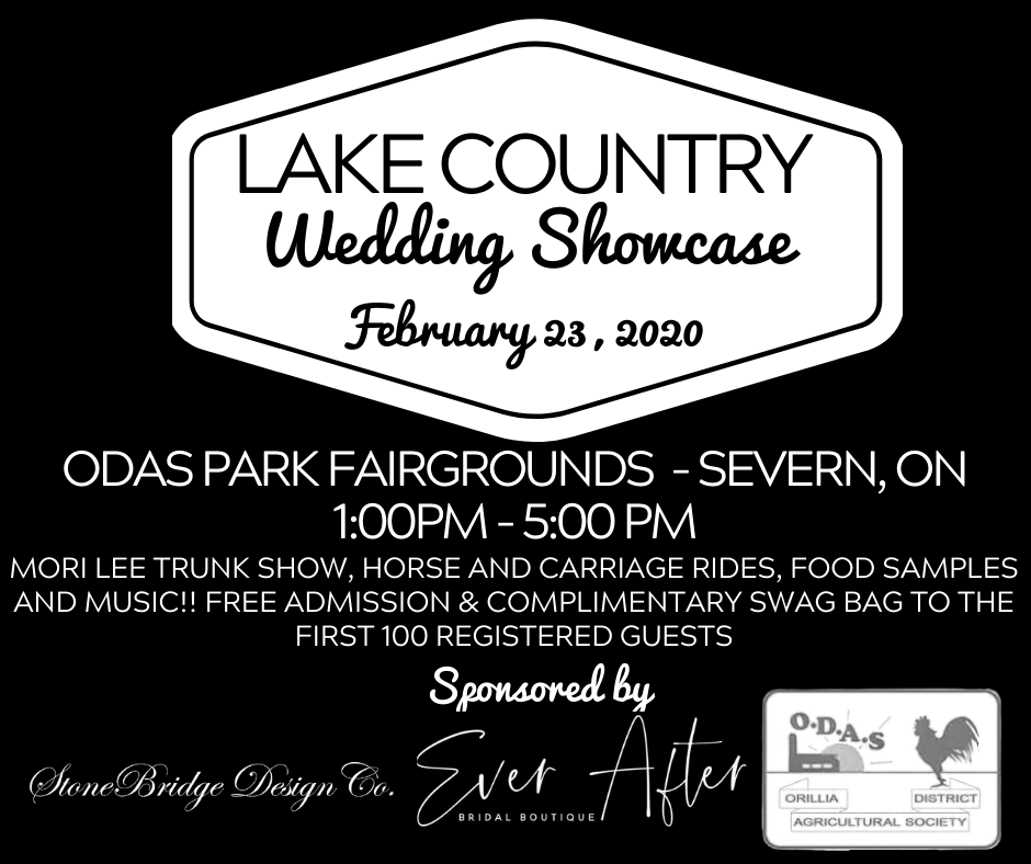 Lake Country Wedding Show - THE PARTY OF THE YEAR, EVERY YEAR!