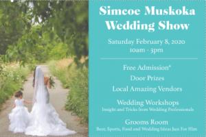 Wedding Show Front 300x200 - SIMCOE MUSKOKA WEDDING SHOW