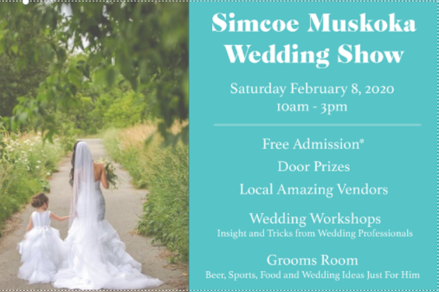 Wedding Show Front - SIMCOE MUSKOKA WEDDING SHOW