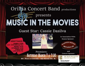 "20200307 MusicInTheMovies 300x232 - ORILLIA CONCERT BAND ""MUSIC IN THE MOVIES"""