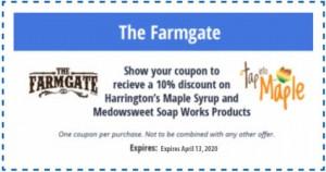 Farmgate Coupon
