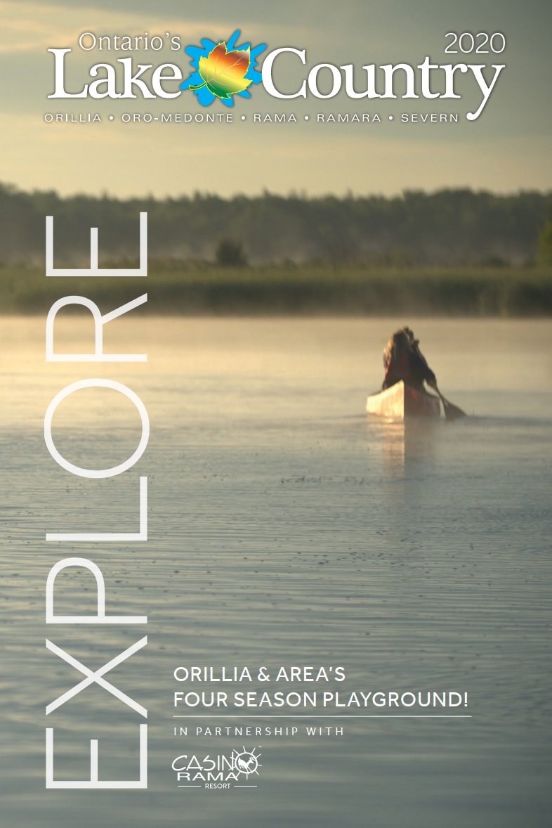 olc visitor guide 2020 cover - Orillia & Lake Country Tourism - Home