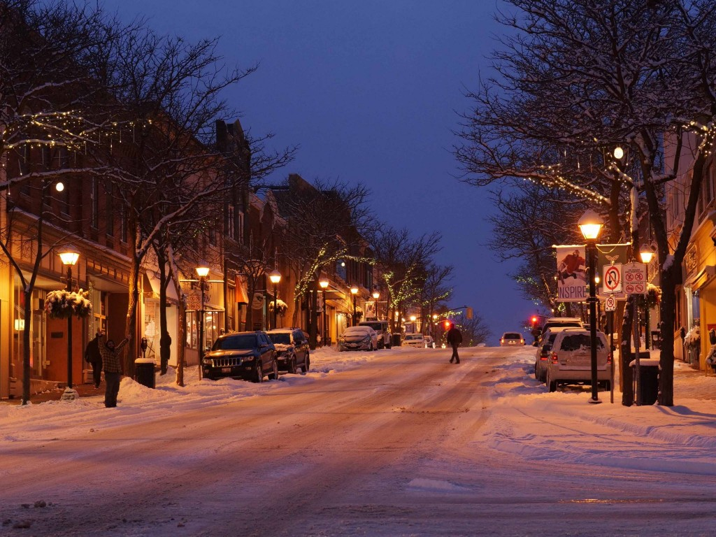 dt snow tyler knight purchased 1024x768 - Celebrate the Holiday season in Orillia's downtown