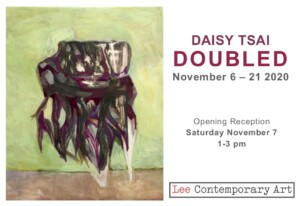 Daisy Tsai Doubled Invite 2020 front 300x206 - Daisy Tsai: Doubled.  An exhibition of new paintings at Lee Contemporary Art