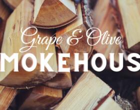 Grape Olive Smokehouse Logo