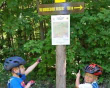 New Copeland Forest Map and Signage- Helping You Find Your Way