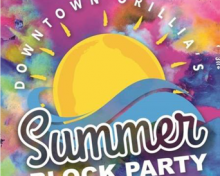 Downtown Orillia's Summer Block Party
