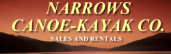 NARROWS CANOE-KAYAK CO-SALES & RENTALS