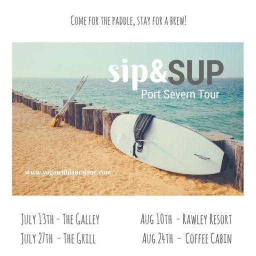 SIP & SUP- PORT SEVERN TOUR