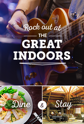 The Great Indoors Entertainment Package