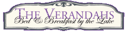 VERANDAHS BED & BREAKFAST BY THE LAKE