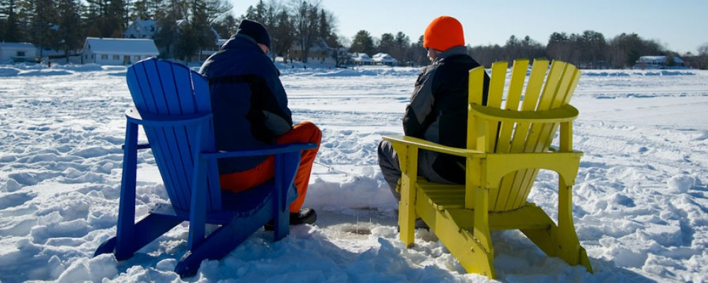Ice Fishing in Ontario's Lake Country