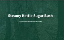 STEAMY KETTLE SUGAR BUSH