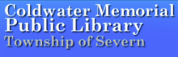 COLDWATER MEMORIAL PUBLIC LIBRARY