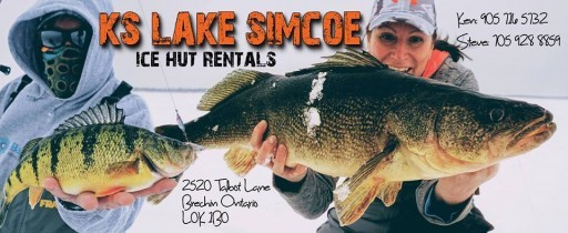 KS LAKE SIMCOE ICE HUT RENTALS