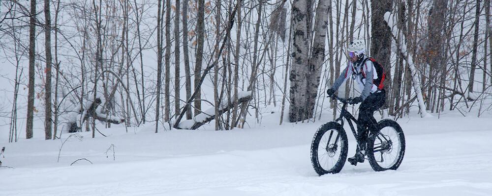 Fat Biking – Cycling in a four-season destination