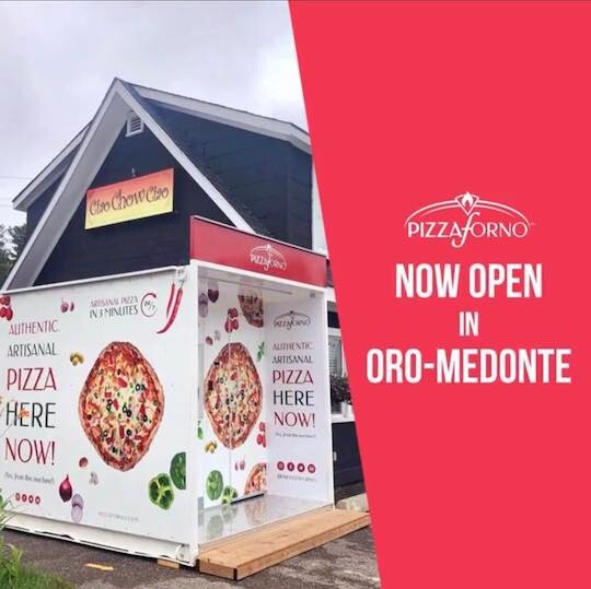 CIAO CHOW CIAO Fry Trailer & Pizza Forno