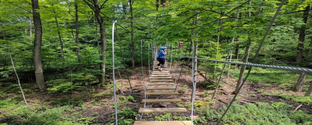 Adventure Days In Ontario's Lake Country With Treetop Trekking By Arbraska!